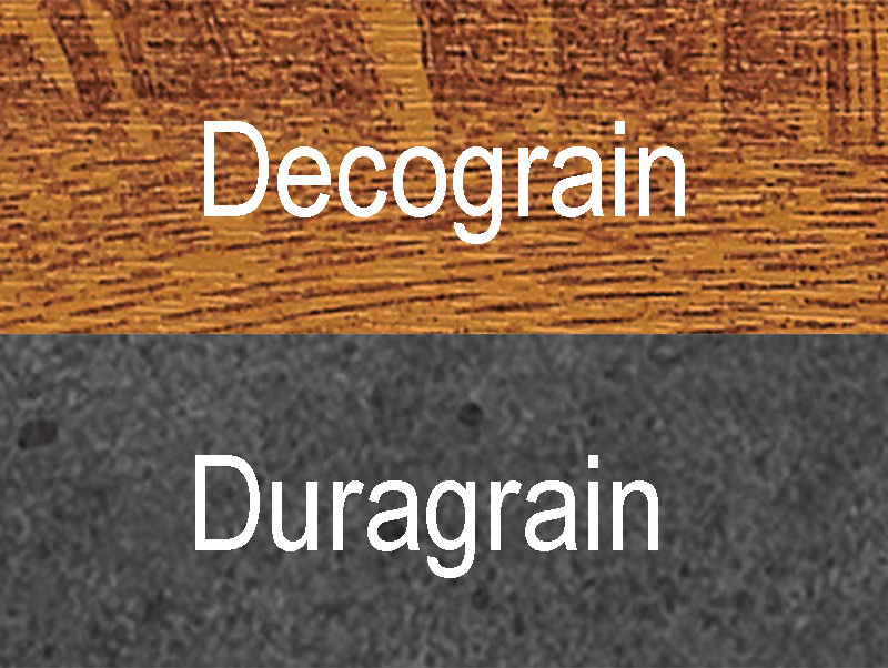 Garagentor Sektionaltor Oberfläche Decograin Duragrain