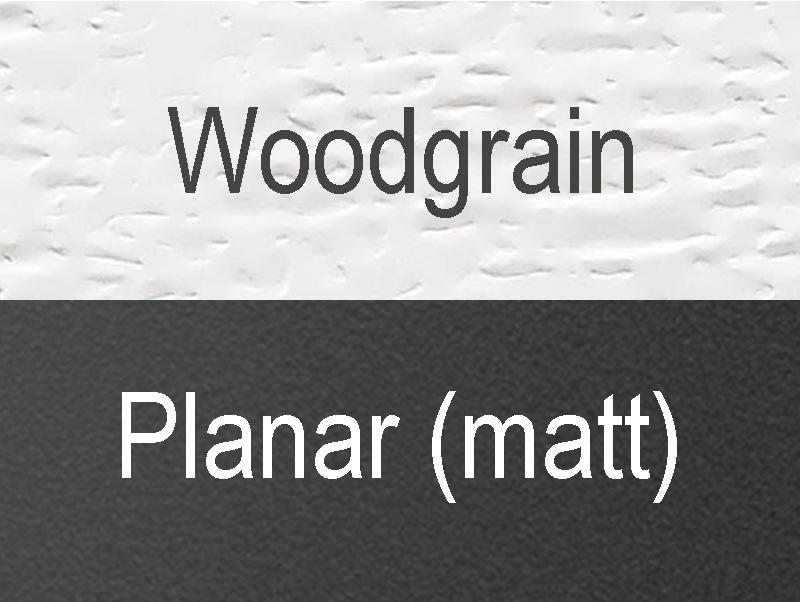 Garagentor Sektionaltor Oberfläche Planar Woodgrain