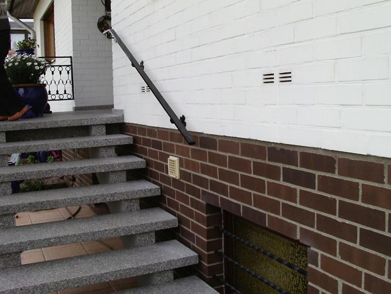 Metallhandlauf Braunschweig Handlauf Treppe
