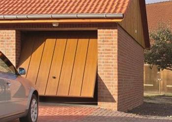 Auto Hof Garagentor Metalltor Schwingtor